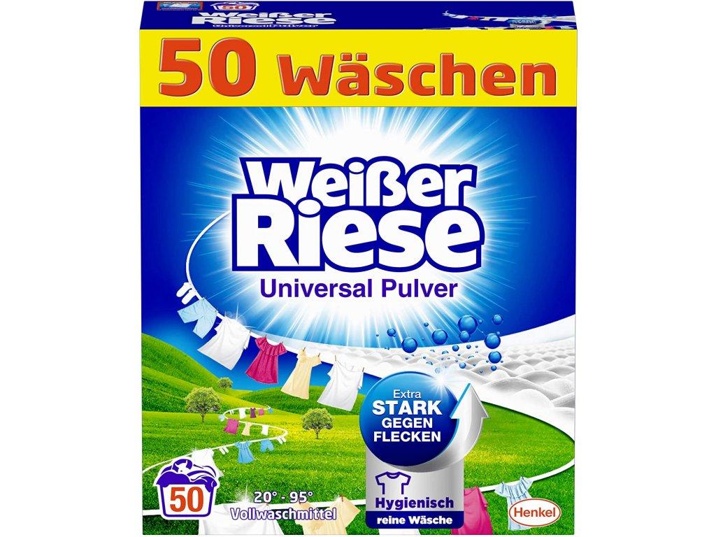 Weisser Riese Universal prací prášek 50 dávek 2,75kg
