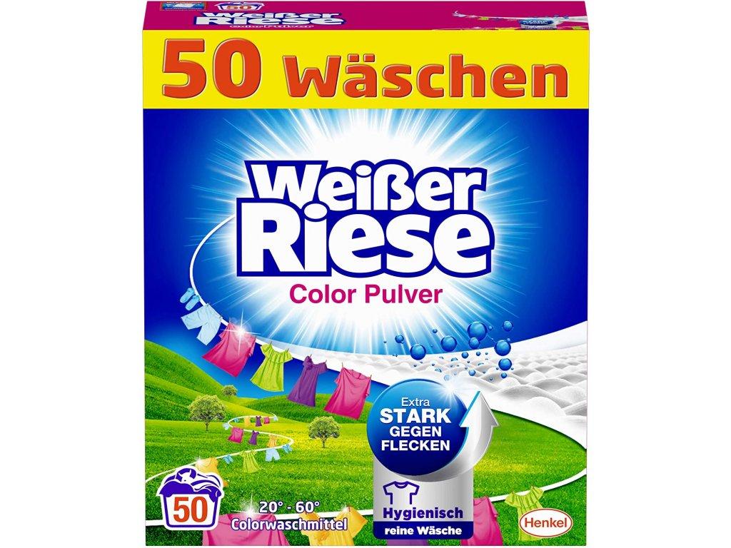 Weisser Riese Color prací prášek 50 dávek 2,75kg