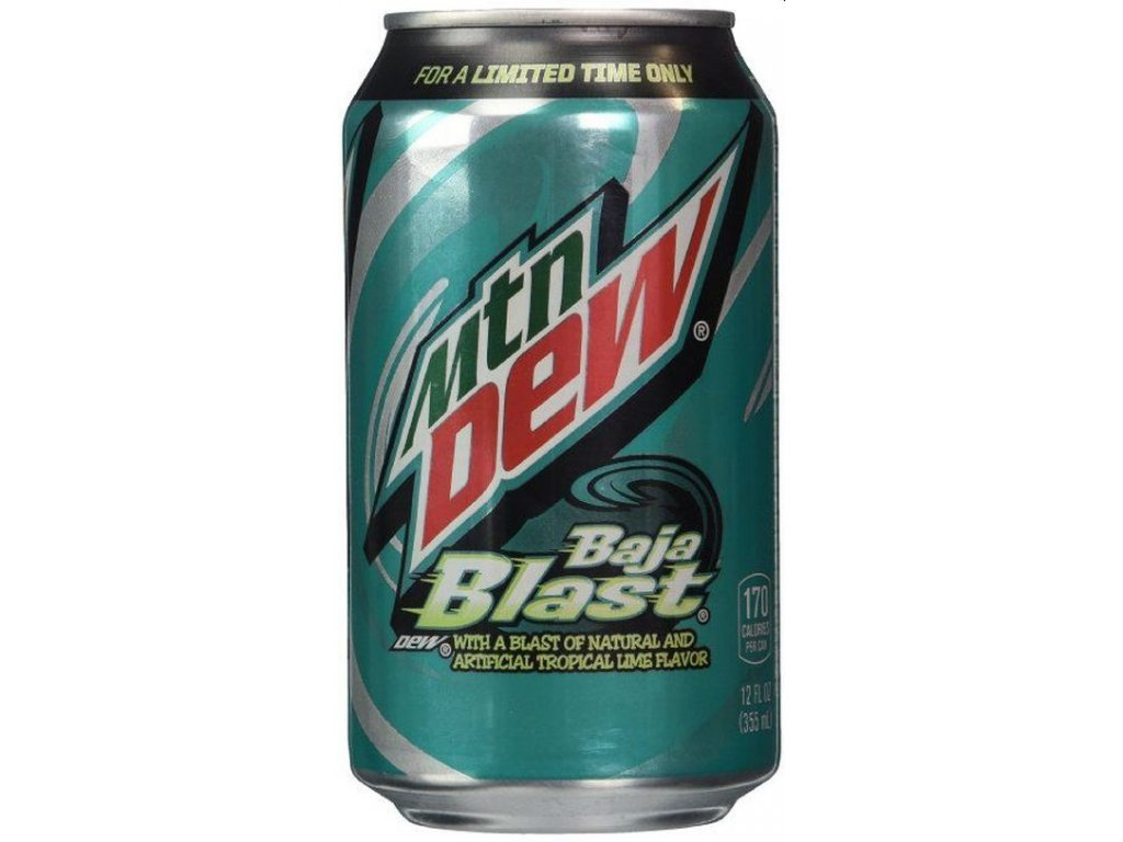 Mountain Dew Baja Blast 355ml