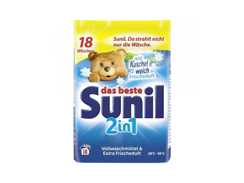 Sunil 2in1 Color prací prášek 18 dávek 1,215kg