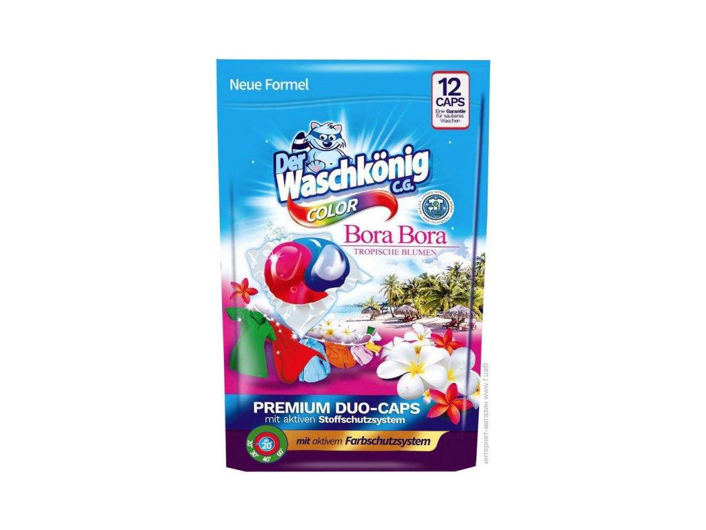 Waschkönig Color Bora Bora DUO CAPS prací kapsle 20 dávek 216g