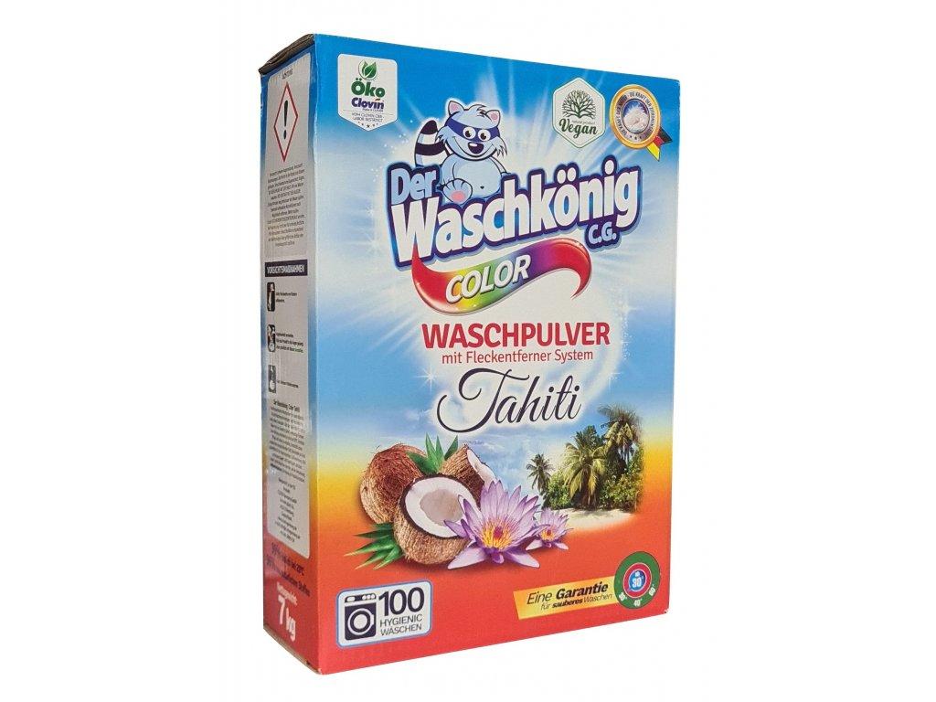 Waschkönig Color Tahiti prací prášek 100 dávek 7kg