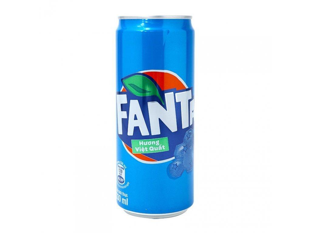 Fanta Blueberry 330ml