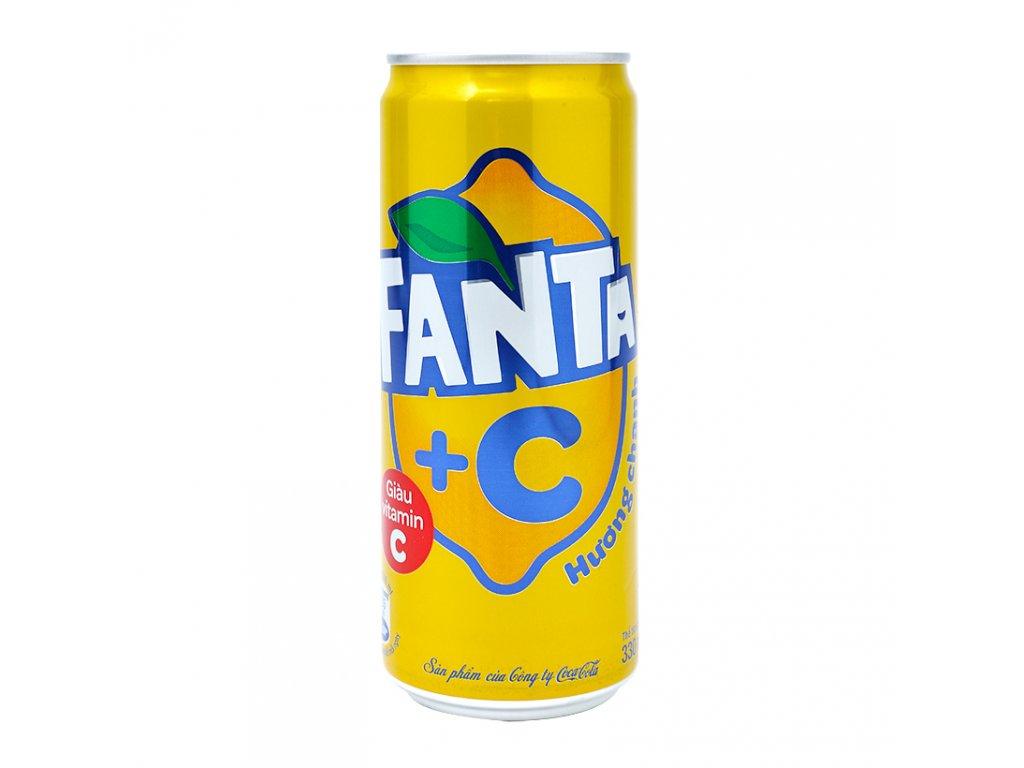 Fanta Lemon +C 330ml