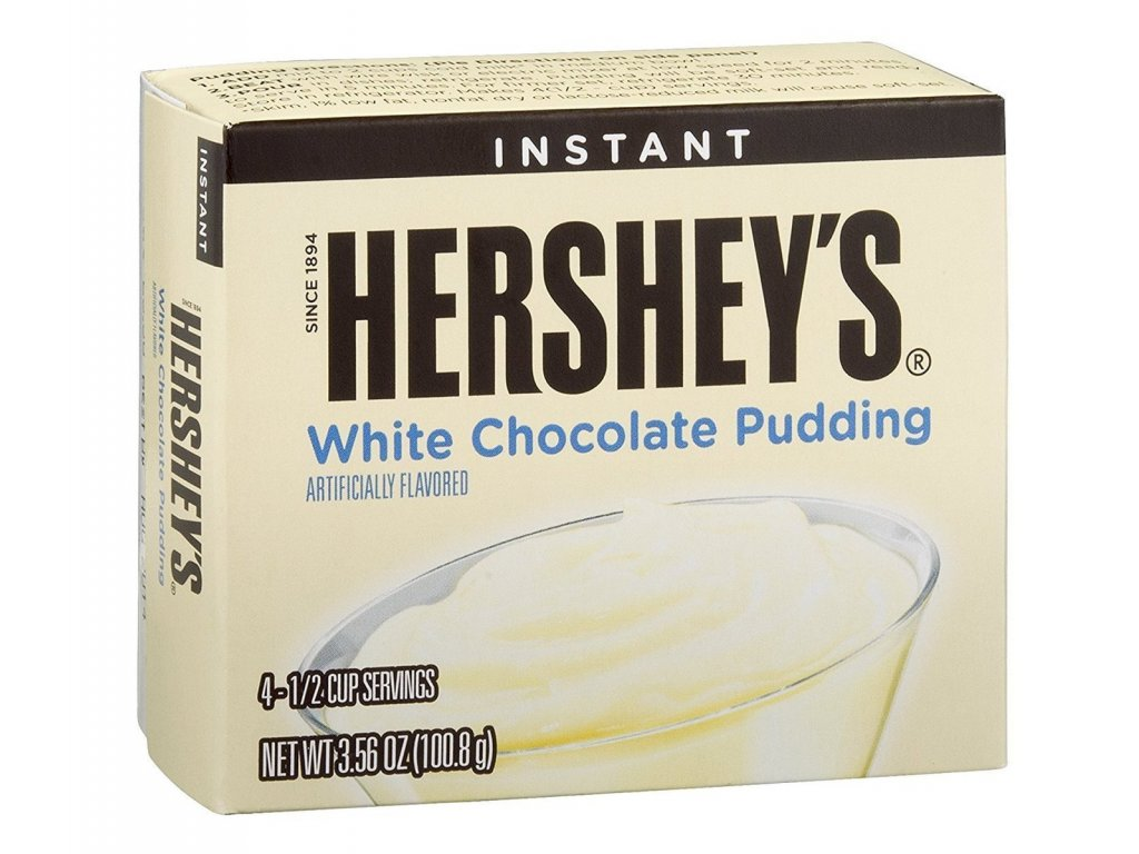 Hershey's White Chocolate Pudding 100,8g