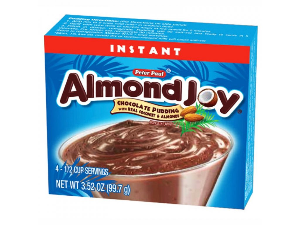 Hershey's Almond Joy Instant Pudding 99,7g
