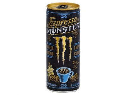 Monster Espresso Vanilla Triple Shot 250ml