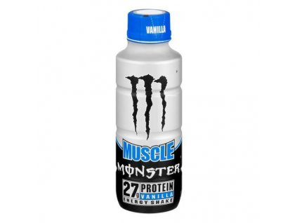 Monster Muscle Energy Shake Vanilla 444ml