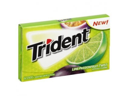Trident Lime Passionfruit Twist 38g