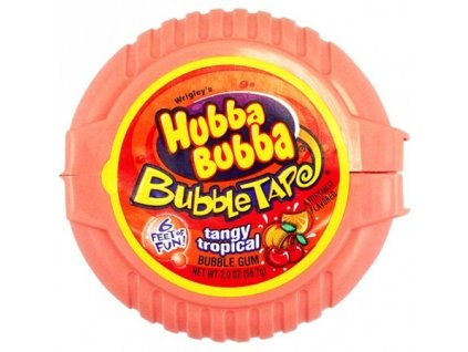 Hubba Bubba Tape Tangy Tropical 56,7g