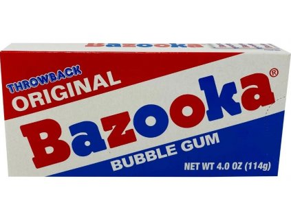 Bazooka Throwback Original Bubble Gum 114g