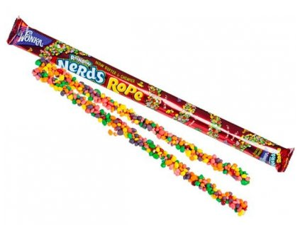 Wonka Rainbow Nerds Rope 26g