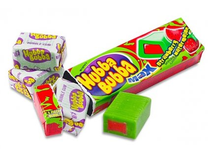 Hubba Bubba Strawberry Watermelon 43g