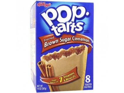 Pop Tarts Frosted Brown Sugar Cinnamon 384g
