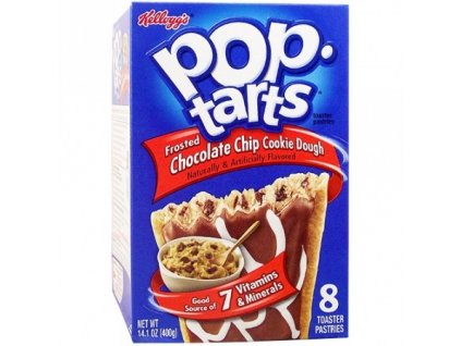 Pop Tarts Frosted Choc Chip Cookie Dough 400g