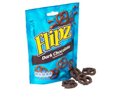 Flipz Pretzel Dark Chocolate 100g