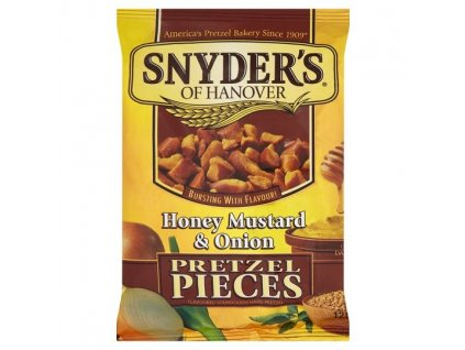 Snyders Pretzels Honey Mustard & Onion 125g