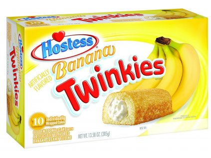 Hostess Banana Twinkies (10 kusů) 385g