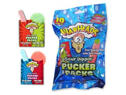 Warheads Sour Dippin' Pucker 10 x 0,84g