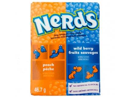 Wonka Peach & Wildberry Nerds 46,7g