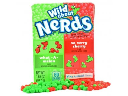 Wonka Watermelon & Cherry Nerds 46,7g