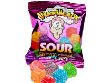 Warheads Sour Chewy Cubes 22g