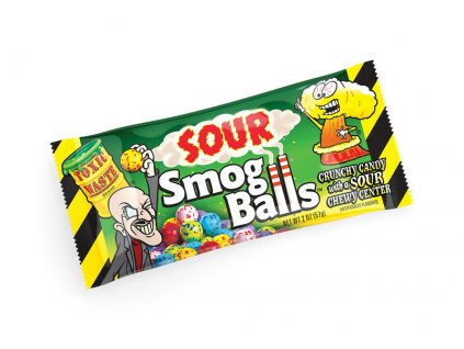 Toxic Waste Smog Balls Sour Candy 48g