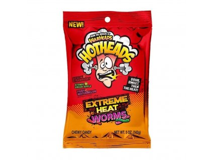 Warheads Hotheads Extreme Heat Worms 142g