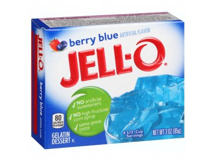 Jello Berry Blue 85g