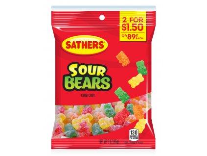 Sathers Sour Gummi Bears 85g