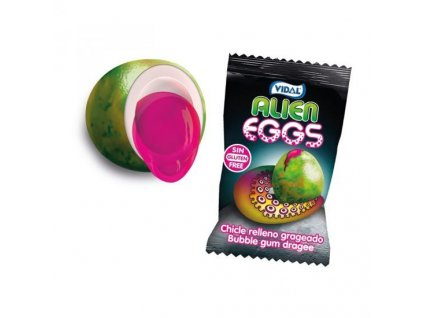 Vidal Alien Eggs Bubble Gum 5g