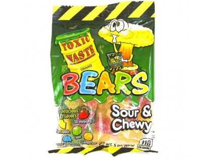 Toxic Waste Sour Gummy Bears 142g
