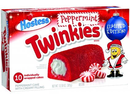 hostess twinkies peppermint