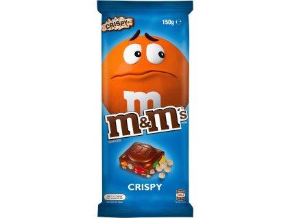 M&M's Milk Chocolate  Bar with Minis and Crisp Rice 150g