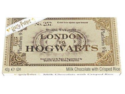 Harry Potter Hogwarts Express čoko jízdenka 42g