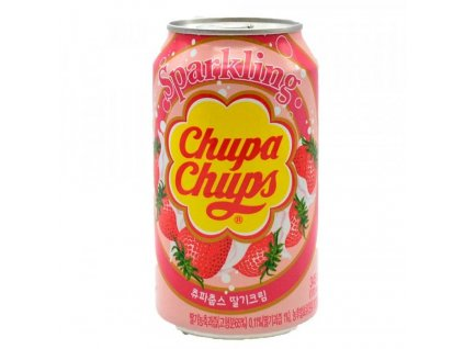 Chupa Chups Strawberry Soda 345ml