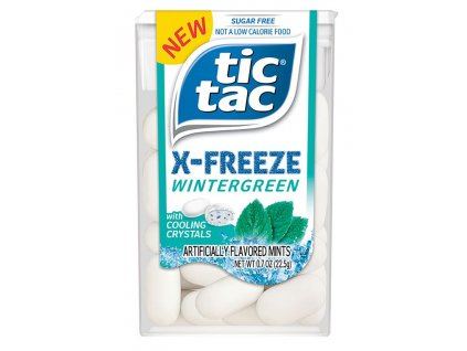 Tic Tac X Freeze Wintergreen 22.5g