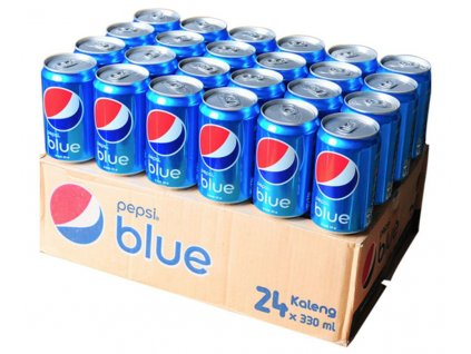 Pepsi Blue 24 x 330ml