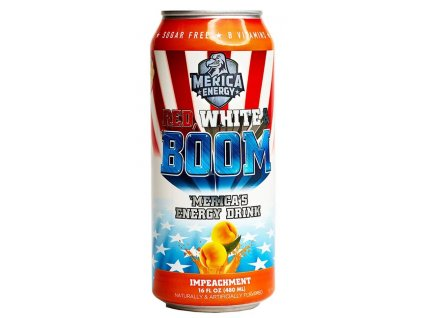 'Merica Energy Red White & Boom ImPEACHment 480ml