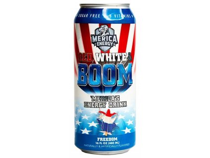 'Merica Energy Red White & Boom Freedom 480ml