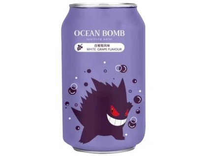 Pokemon Gengar White Grape Flavour Sparkling Water 330ml