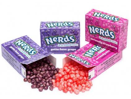 Wonka Mini Nerds Strawberry & Grape 12g