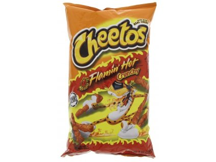 Cheetos Flamin' Hot Crunchy 226.8g