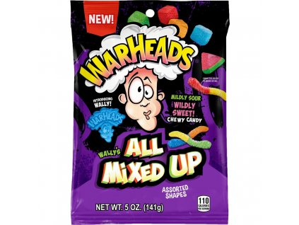 Warheads All Mixed Up 141g