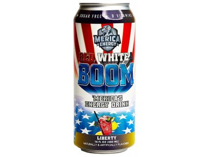 'Merica Energy Red White & Boom Liberty 480ml