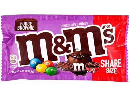M&M's Fudge Brownie Sharing Size 80.2g