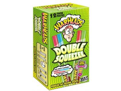 Warheads Double Squeezee Freeze Pops 12 x 20ml