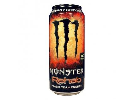 Monster USA Rehab Energy Iced Tea Peach 458ml