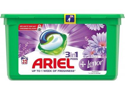 Ariel Pods 3in1 Lenor Freshness 32 dávek 867,2g