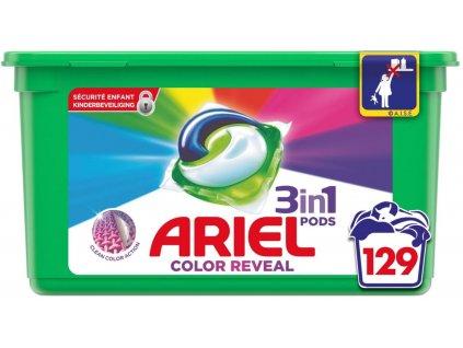 Ariel Pods 3in1 Color Reveal na barevné prádlo 19 dávek 513g